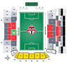 BMO Field Toronto FC Seating Map
