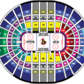 Canadian Tire Centre Senators Seating Map