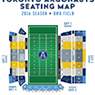 BMO Field Toronto Argonauts Seating Map